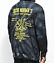 Open925 Dixie Norma's Black Tie Dye Hoodie