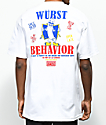Open925 Wurst White T-Shirt