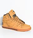 Osiris Clone Urban Light Brown Nubuck Skate Shoes
