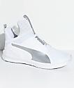PUMA Fierce Core White & Silver Shoes
