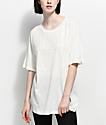 PUMA Fusion White Elongated T-Shirt