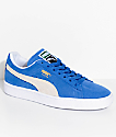 PUMA Suede Classic+ Olympian Blue & White Shoes
