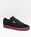 PUMA Suede Classic Waterproof Black & Red Shoes