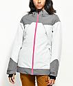 PWDR ROOM Heartland Grey 10K Snowboard Jacket