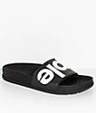 People Footwear Lennon Really Black Slide Sandals