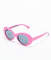 Petals & Peacocks Nevermind Pink Sunglasses