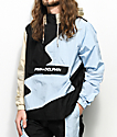 Pink Dolphin Wave Crew Bolt 2.0 Black & Blue Anorak Jacket