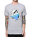 Pink Dolphin Waves Rip T-Shirt