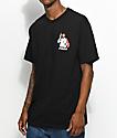 Pizza Last Supper Black T-Shirt