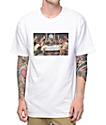 Pizza Last Supper White T-Shirt