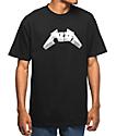 Pizza Metal Black T-Shirt