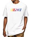 Pizza Race Car White T-Shirt