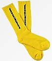 Post Malone Rockstar Yellow Crew Socks