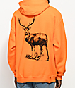 Post Malone Stoney Big Buck Hunt Club Orange Hoodie