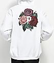 Primitive Bloom White Hoodie