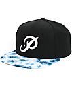 Primitive Classic P Tie Dye Snapback Hat