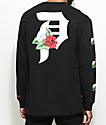 Primitive Dirty P Dos Flores Long Sleeve Black T-Shirt