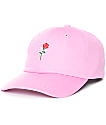 Primitive Heartbreakers Pink Strapback Hat