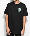 Primitive Smokey P Black T-Shirt