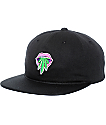 Primitive Taste Buds Black Unstructured Snapback Hat