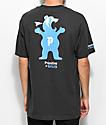 Primitive X Grizzly Mascot Vintage Black T-Shirt