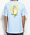 Primitive x Gangster Doodles Holy Moji Light Blue T-Shirt