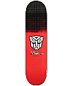 "Primitive x Transformers Rodriguez Autobots Grid 8.0"" Skateboard Deck"