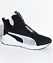 Puma Fierce Core Black & Silver Shoes