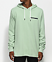 Quiet Life On And Off Mint Green Hoodie