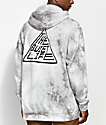Quiet Life Pyramid Lightning Wash Hoodie