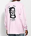 Quiet Life Up All night Pink Long Sleeve T-Shirt