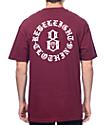 REBEL8 Immortals Burgundy T-Shirt