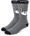 RIPNDIP Falling For Nermal Black Crew Socks