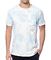 RIPNDIP Falling For Nermal Sky Tie Dye Pocket T-Shirt