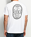 RVCA Day Shift White T-Shirt
