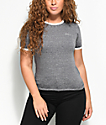 RVCA Small Heather Charcoal T-Shirt