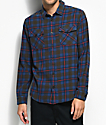 RVCA That'll Work Chocolate Flannel