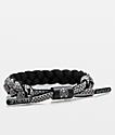 Rastaclat Avalanche Classic Grey & Black Bracelet