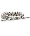 Rastaclat Grey & White Splatter Classic Bracelet