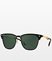 Ray-Ban Blaze Clubmaster Gold Sunglasses