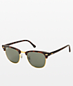 Ray-Ban Large Clubmaster Tortoise Sunglasses