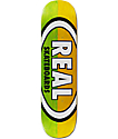 """Real Team Two Tone Oval 8.25"""" Skateboard Deck"""