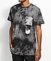 RipNDip Falling For Nermal Black Tie Dye Pocket T-Shirt