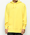 RipNDip Logo Embroidered Yellow Hoodie