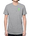 RipNDip Lord Alien Pocket Grey T-Shirt