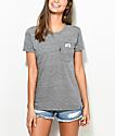 RipNDip Lord Nermal Heather Grey Pocket T-Shirt
