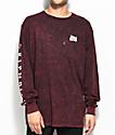 RipNDip Lord Nermal Long Sleeve Blood Wash T-Shirt