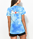 RipNDip Must Be Nice Blue Tie Dye T-Shirt