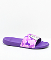 RipNDip Nermal Purple Camo Slide Sandals