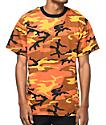 Rothco Savage Orange Camo T-Shirt